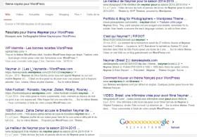 Quand Google est incapable d'afficher des résultats probants