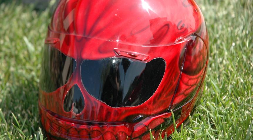 Customisez son casque moto, c'est tendance